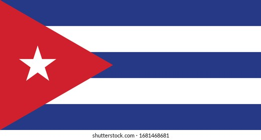 FROM VECTOR FLAG SERIES CUBA
