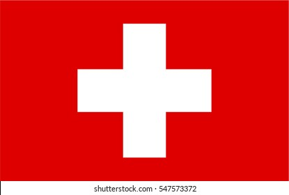 Vector Flag of Switzerland