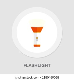 vector flashlight icon - vector spotlight icon