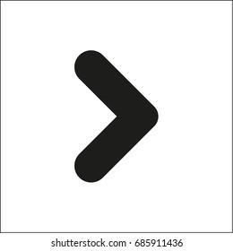 Vector flat arrow icon