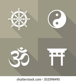 Vector Flat Icons - Symbols