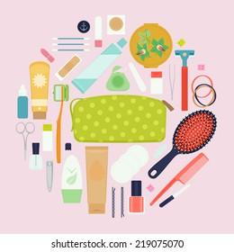 Bathroom Items Images, Stock Photos & Vectors | Shutterstock