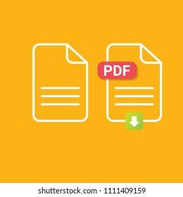 pdf template design images stock photos vectors shutterstock