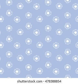 Vector floral seamless pattern. Elegant floral background.