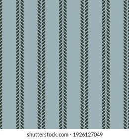 Vector floral seamless pattern with grey-blue background for fabric, scrapbooking, wrapping paper