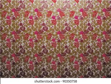 vector - floral wallpaper