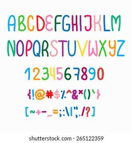vector font color