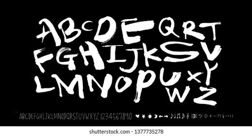 Vector fonts \u002F Handwritten calligraphy