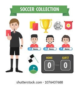 vector football collection