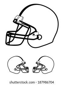 white football helmet images stock photos vectors shutterstock