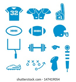 Vector Football Icons Collection