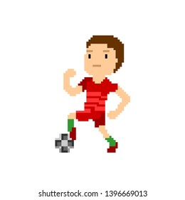 Imágenes Fotos De Stock Y Vectores Sobre Pixel Art Football
