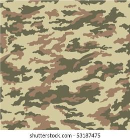 vector forest camouflage - seamless pattern