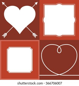 valentine border images stock photos vectors shutterstock