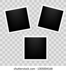 Vector frames photo collage Vector illustration EPS10