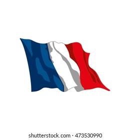 vector france flag symbol state