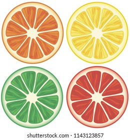 Vector fruits. White background for menu, restaurant, textiles, cards, invitations, website, banner, cafes, restaurants, coffee shops, catering.