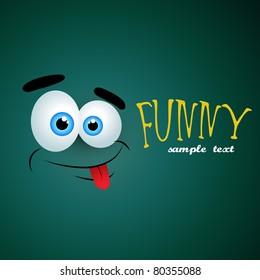 Funny background designs shutterstock vector funny emotion background voltagebd Images