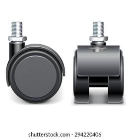 Vector Furniture Wheel
