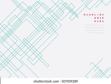 Vector of futuristic diagonal line design and background