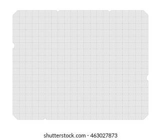 Vector futuristic grid as template for design. EPS 10