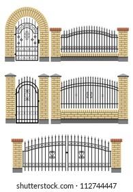 Brick Gate Hd Stock Images Shutterstock