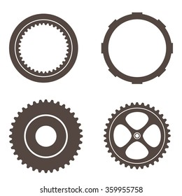 Vector Gear and Cog Set, friction
