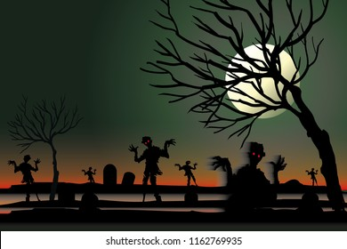 vector ghost in the graveyard