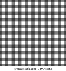 Vector gingham seamless pattern