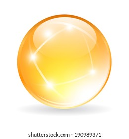 Vector glass orb