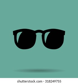 Vector Glasses Icon Symbol