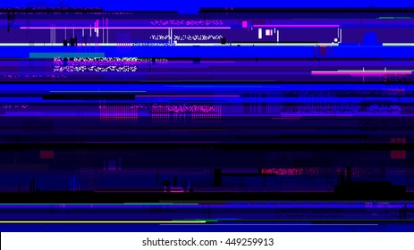 Vector glitch background corrupted image vector file