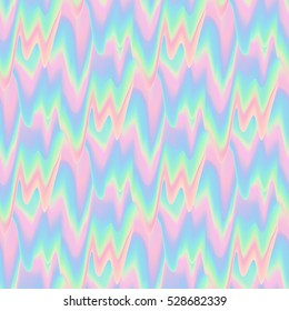 Vector glitch  pattern background.. Kawaii funny background. Abstract digital vanilla smudges.Digital image data distortion. Neon pastel colors abstract seamless for your designs. Vaporwave style.