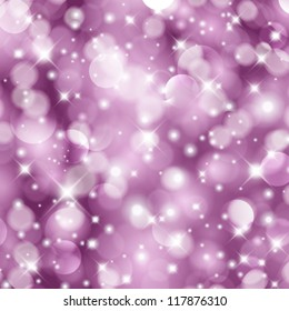Vector glittery Christmas background.