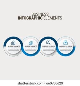 Vector global infographics template
