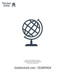 Vector globe icons