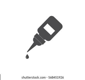 Vector glue icon.