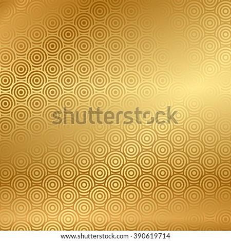 vector gold background pattern のベクター画像素材 ロイヤリティ