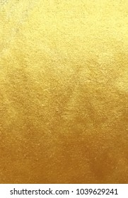 Vector golden foil background template for cards, hand drawn backdrop - invitations, posters, cards.