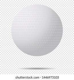 Golf Ball On Transparent Background Images Stock Photos Vectors Shutterstock