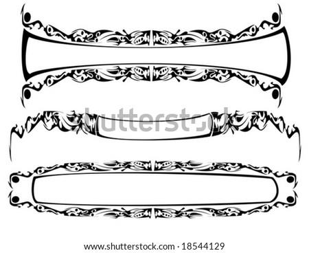 Vector Gothic Frames Stock Vector (Royalty Free) 18544129 - Shutterstock