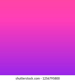 Vector gradient abstract background, color Plastic Pink and Proton Purple. 2019 Color Trends.
