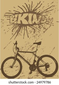 vector graffiti for bikers