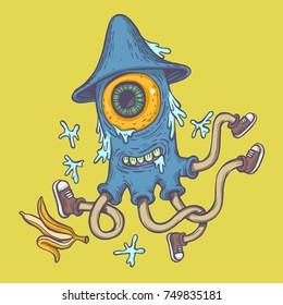 Monster Graffiti Images Stock Photos Vectors Shutterstock
