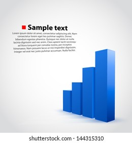 vector graph chart background