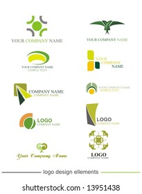 vector graphic  elements  collection