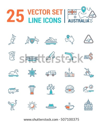 Vector Graphic Set Silhouette Logo Icon Stock Vector (Royalty Free