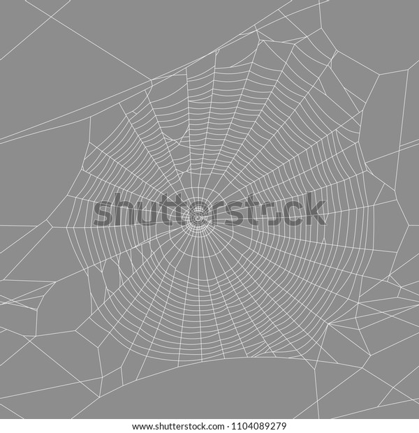 vector graphic texture of a spider trap