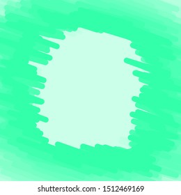 Vector green abstract line against a simple bluish green background.