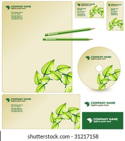 vector GREEN business package